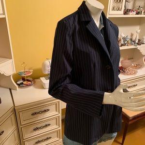 Vintage Danielle B pinstripe blazer.